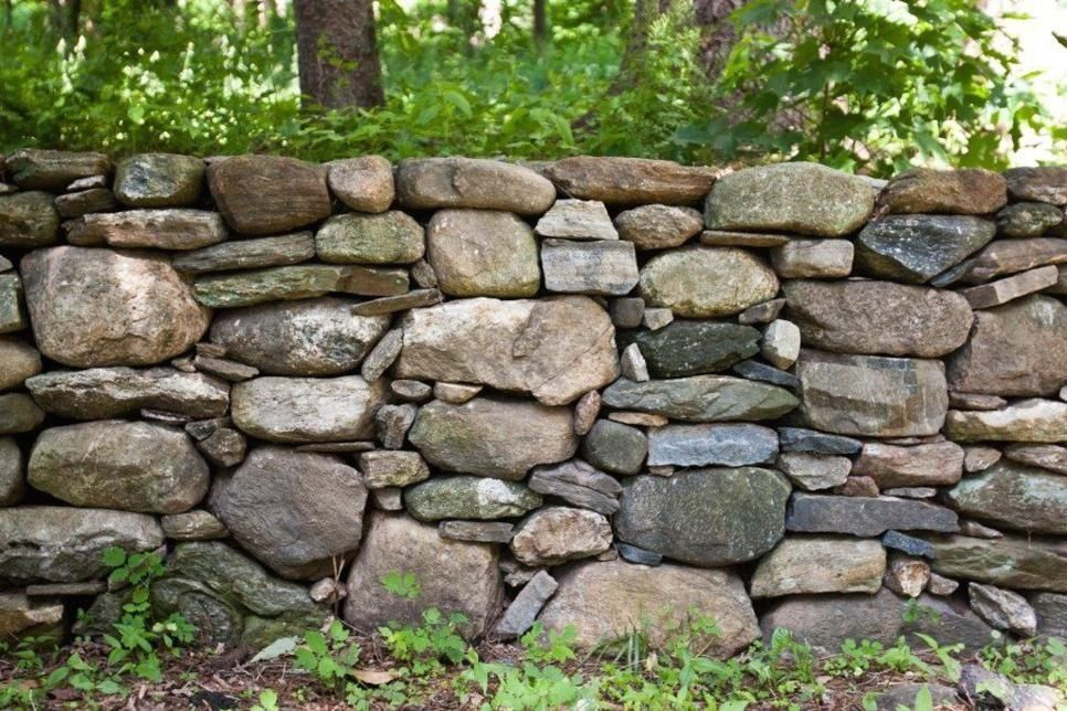 Stone Fences With Style 1000 in 2020 Landscape edging