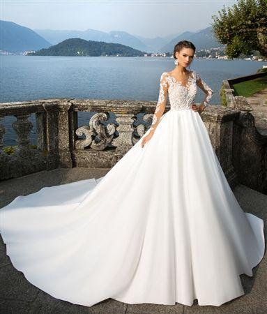 A-Line Long Bridesmaid Dresses