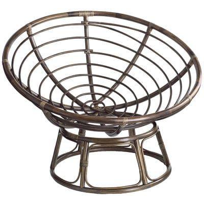 Papasan Taupe Chair Frame Apartment Papasan Chair