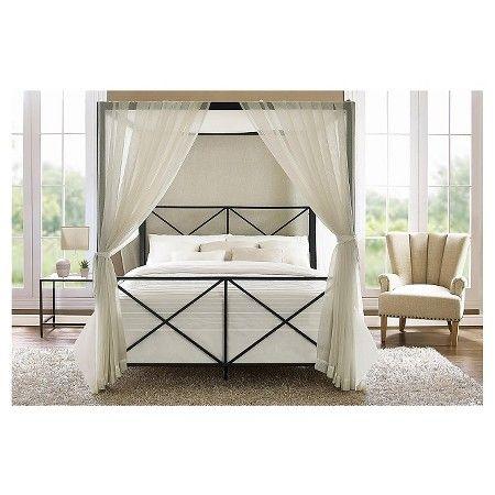 Rosedale Metal Canopy Queen Bed - Black (Queen) : Target | Home #2 ...