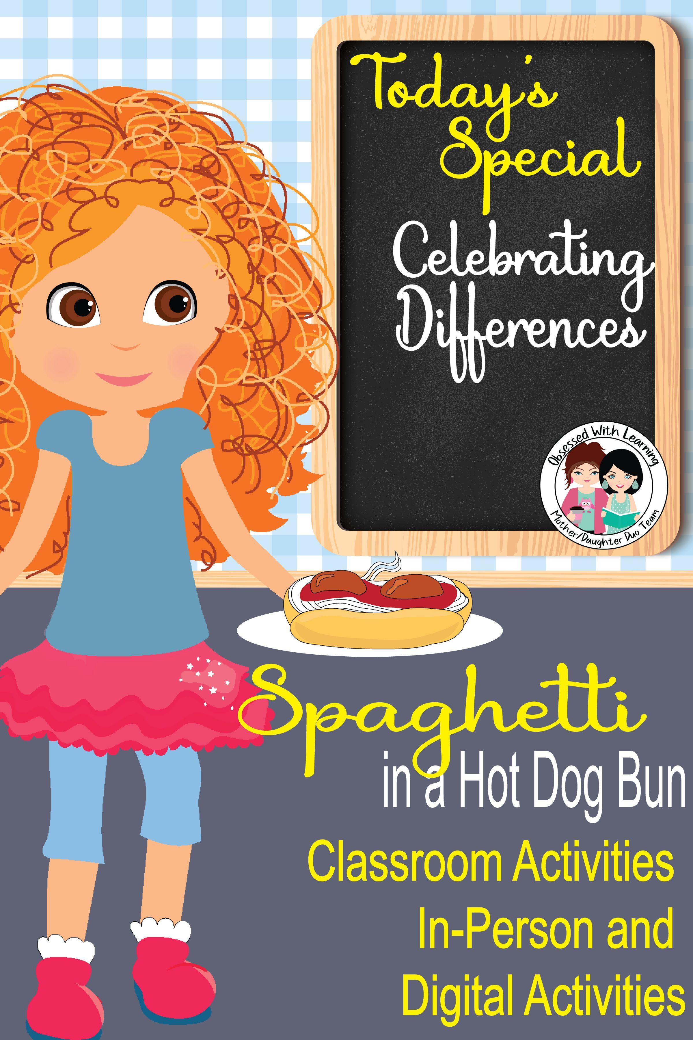 Spaghetti In A Hot Dog Bun Activities Vocabulary Writing