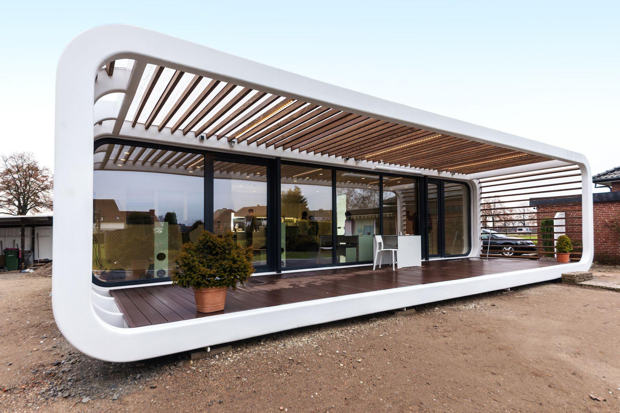 Fantastisch 5 Cool Prefab Houses You Can Order Right Now    Curbedclockmenumore Arrownoyes : Prefabulous!