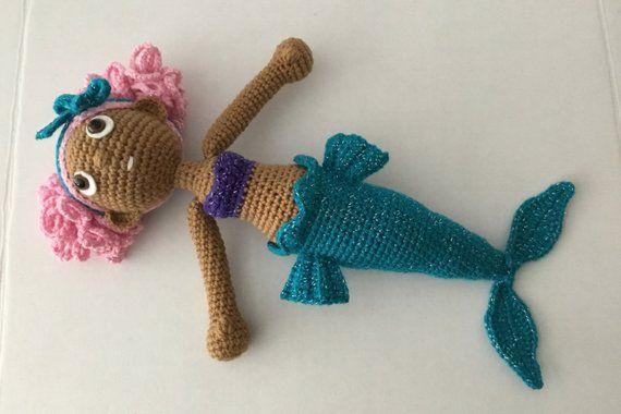 Magical Mermaid Crochet Pattern #crochetbowpattern