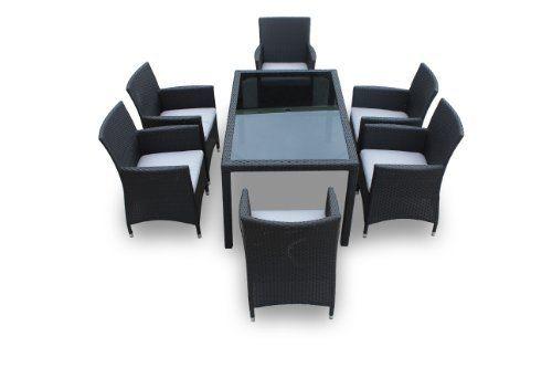 Hemera G, 7 Piece Dining Set By Luxus Outdoor Patio Furniture Set ...
