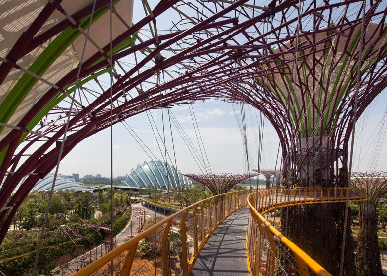 Gardens by the Bay by Grant Associates and Wilkinson Eyre