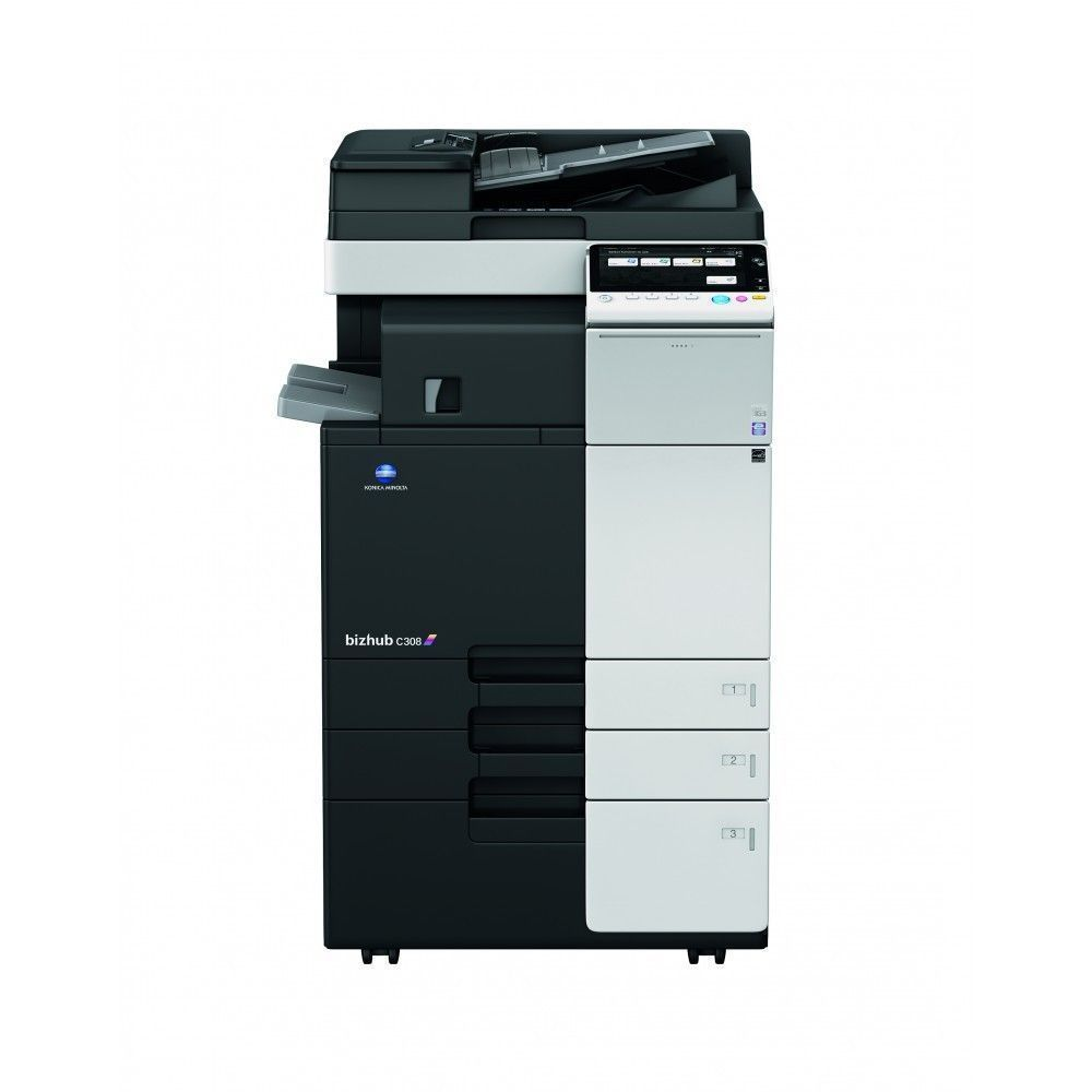 Konica Minolta Bizhub C554e Multifunction Color Laser Printer Konicaminolta Konica Minolta Locker Storage Laser Printer