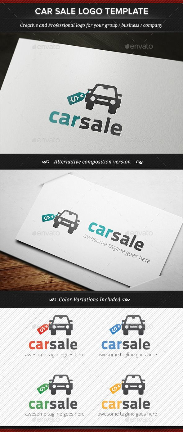 Car Sale Seller Dealer Logo Template — Vector EPS #template #seller • Available here → https://graphicriver.net/item/car-sale-seller-dealer-logo-template/11823521?ref=pxcr