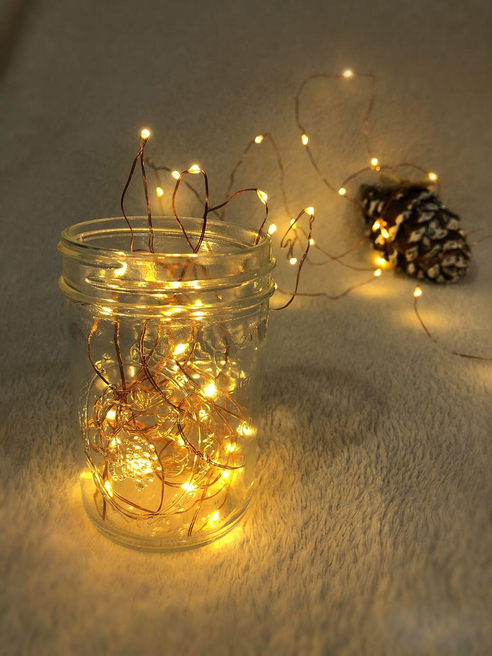 Fairy Lights Battery Operated for Bedroom Indoor Outdoor