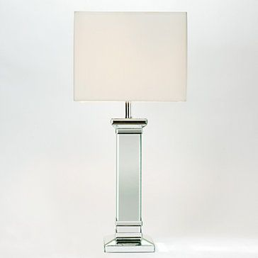 Kendall mirrored table lamp table lamps lighting decor z gallerie 13 x