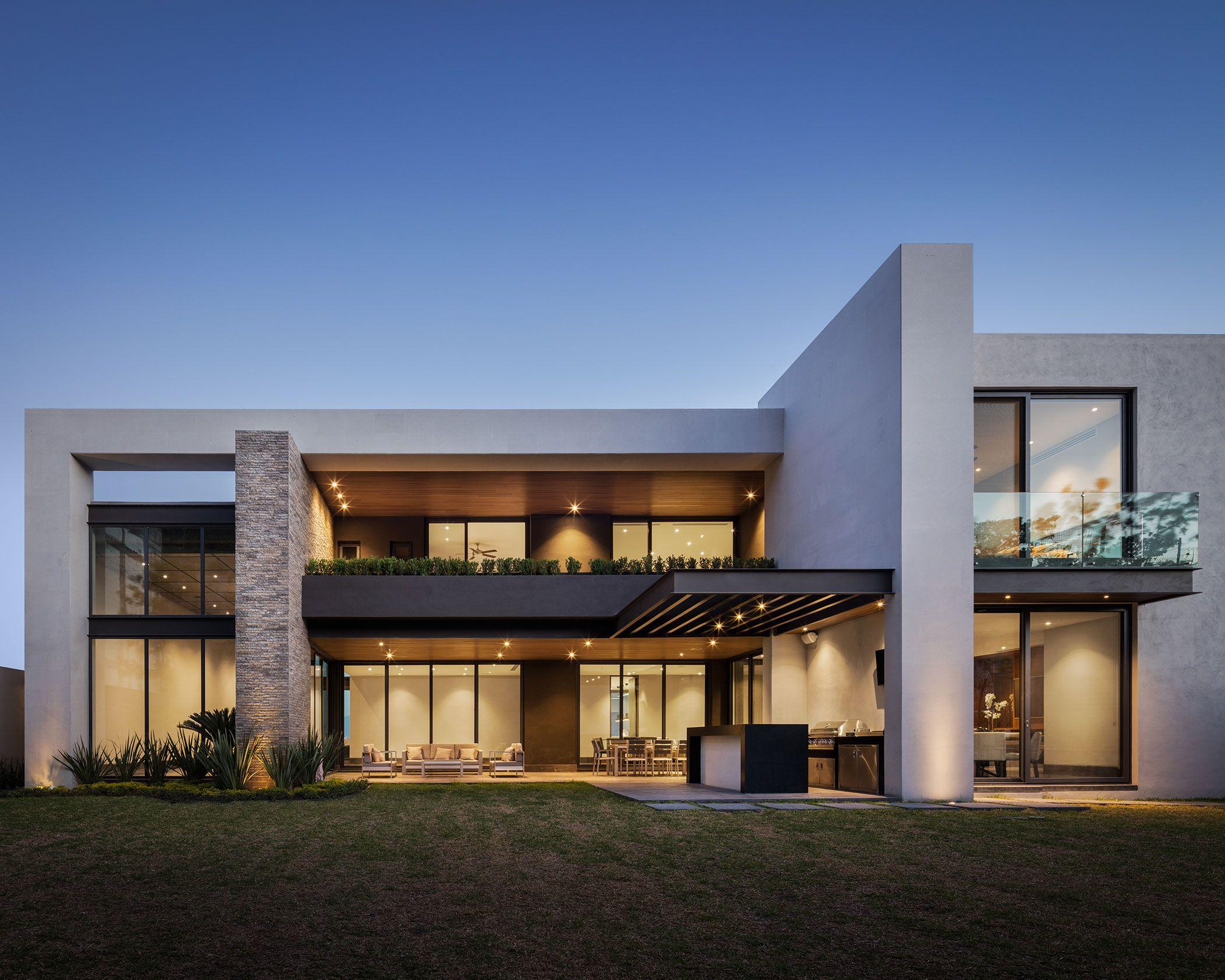 Pozas casa cordillera home casas for Planos de casas minimalistas modernas