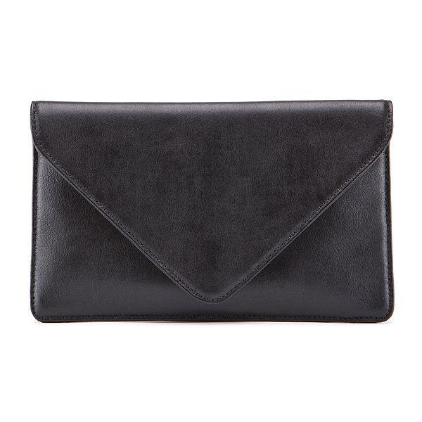 Jessica Jensen Envelope Clutch in Black