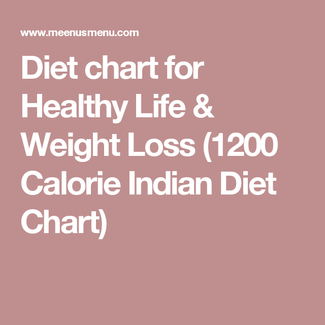 Diet Chart For Healthy Life  Weight Loss  Calorie Indian