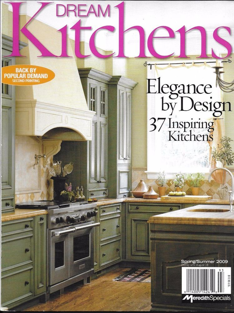 Dream Kitchens magazine Contemporary Traditional European Heritage ...