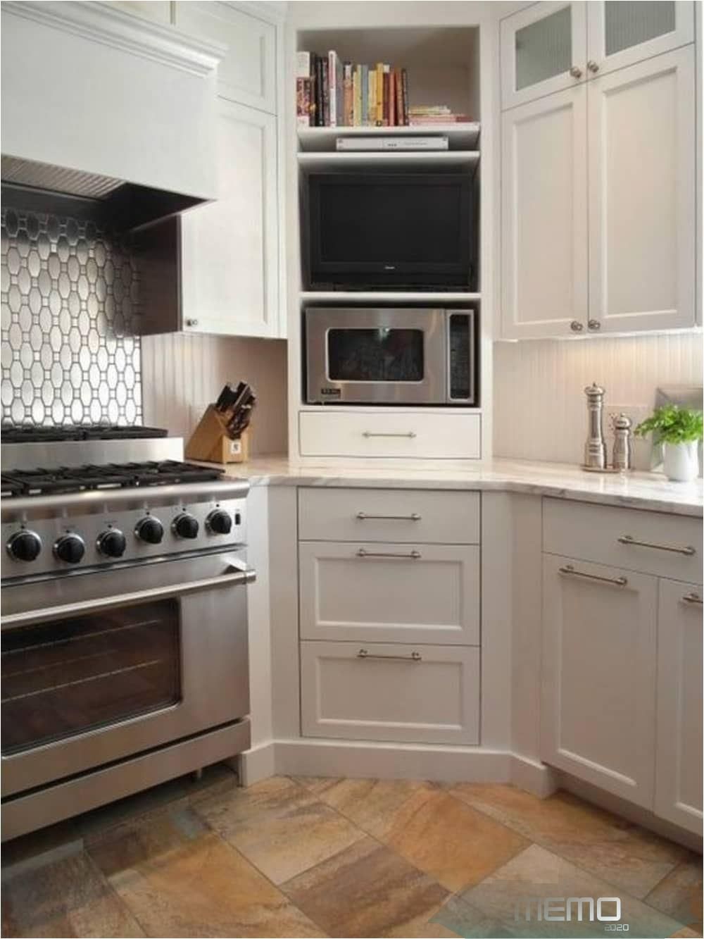 Aug 14 2019 Here S How To Turn An Awkward Annoyance Into A Real Selling Point Kitchencab In 2020 Kitchen Cabinet Design New Kitchen Cabinets Corner Kitchen Cabinet