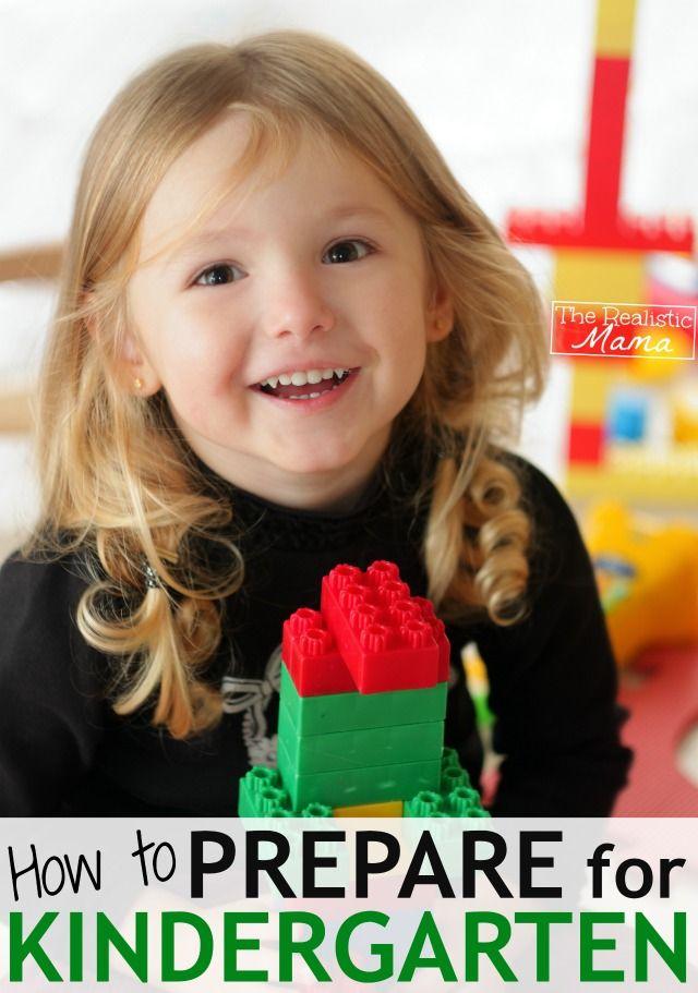Love these ideas! How to prepare for Kindergarten. #kindergarten #moms
