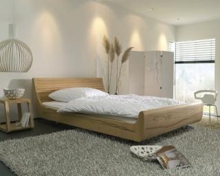 Dormiente Massivholz-Bett Mola