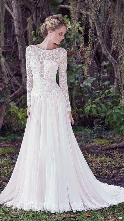 Vestidos De Noiva De Renda 2018 Sinônimo De Delicadeza