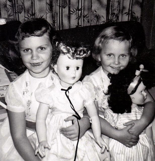 MY DOLLY & ME~ girls w/ dolls