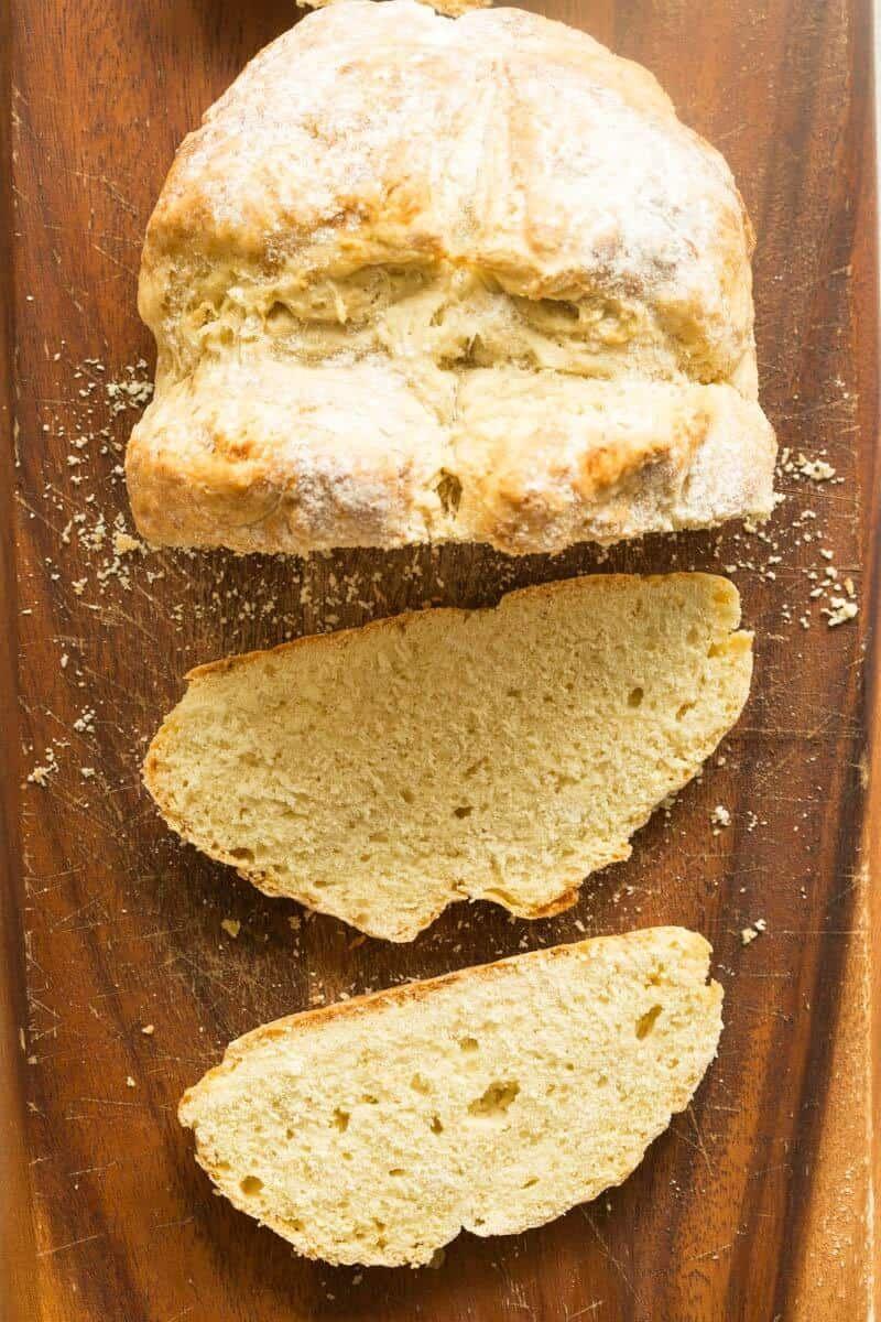 Easy No Yeast Bread No Dairy The Big Man S World Recipe In 2020 No Yeast Bread Soda Bread Bread