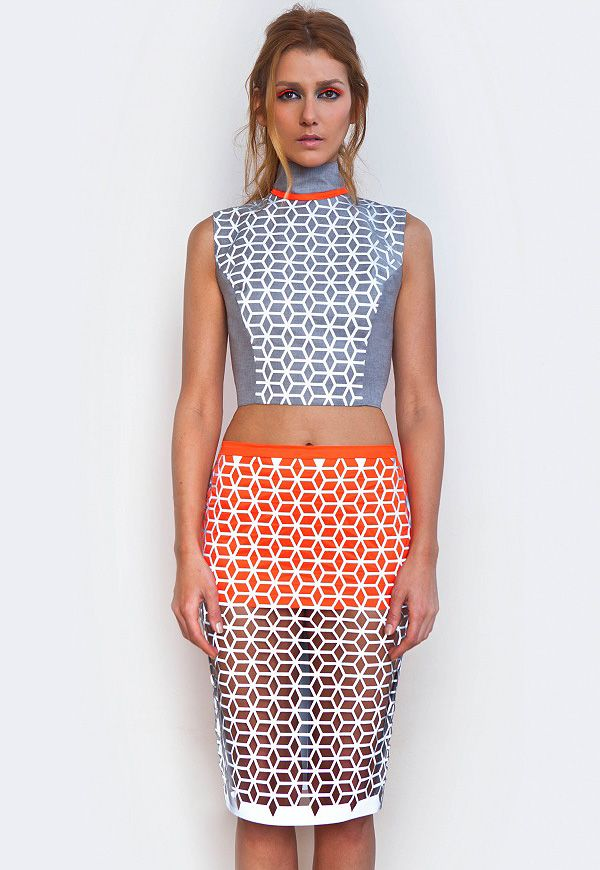 Harmony This Outfit Has Complementary Colours Which Is Blue And Orange Since They Are Opposite To Each Other On The Colou Fashion Design Fashion Fashion Essay