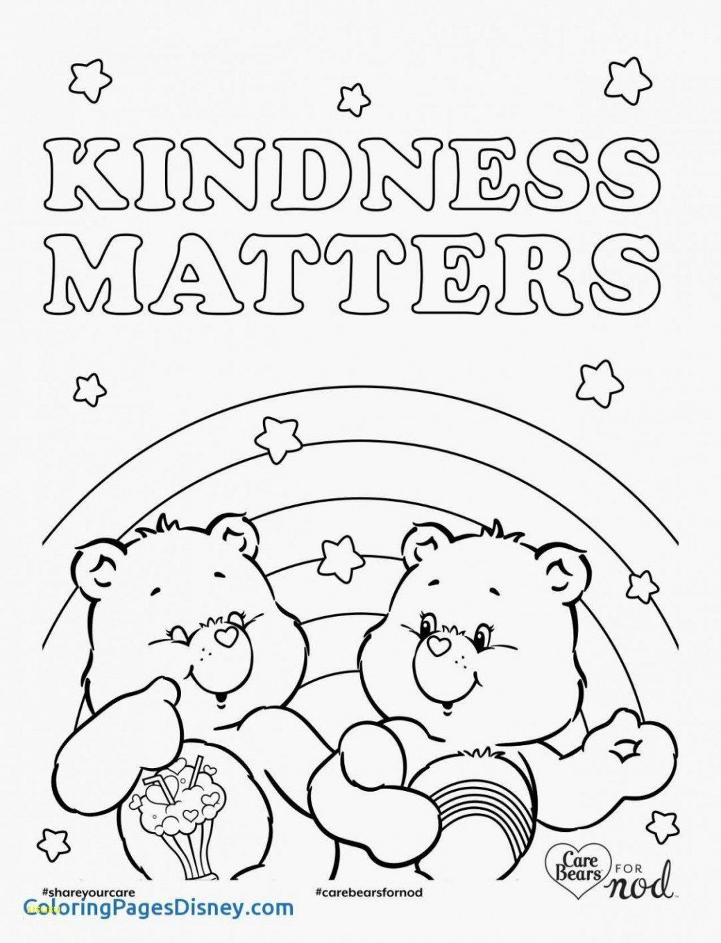 Care Bears Coloring Pages Lovely Coloring Pages Care Bear Coloring Page Beautiful Landsc Bear Coloring Pages Disney Princess Coloring Pages Coloring Book Pages