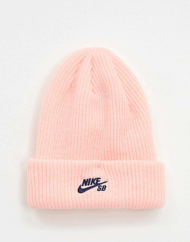 0d579fc201e93b Nike Sb Pink Fisherman Beanie Hat in 2019 | Christmas | Beanie hats ...