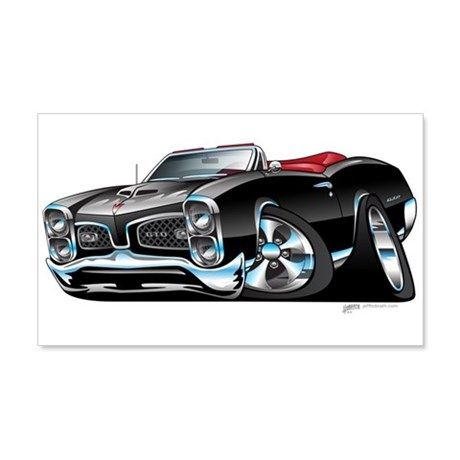 Pontiac GTO Muscle car Wall Decal on CafePress.com | Samples of my ...