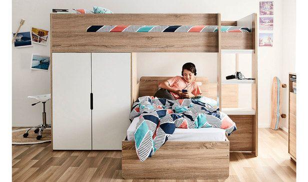 Best Cabin King Single Loft Bed Package Bebe Room In 2019 400 x 300