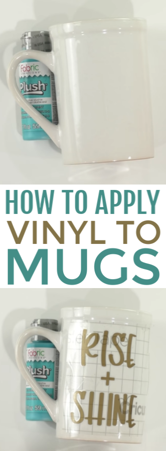 How To Apply Vinyl To Mugs - Makers Gonna Learn #cricutvinylprojects