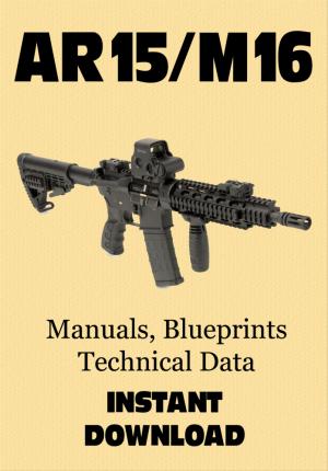 AR15/M16 manuals, blueprints, technical data, CAD files