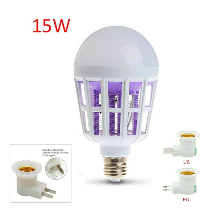 110V//220V Home Indoor Fly Bug Insect Zapper Traps Electric Mosquito Killer Lamp