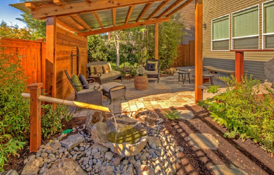 wood solid patio cover designs | ... Perfect Patio Cover ... on Wood Covered Patio Ideas id=37584
