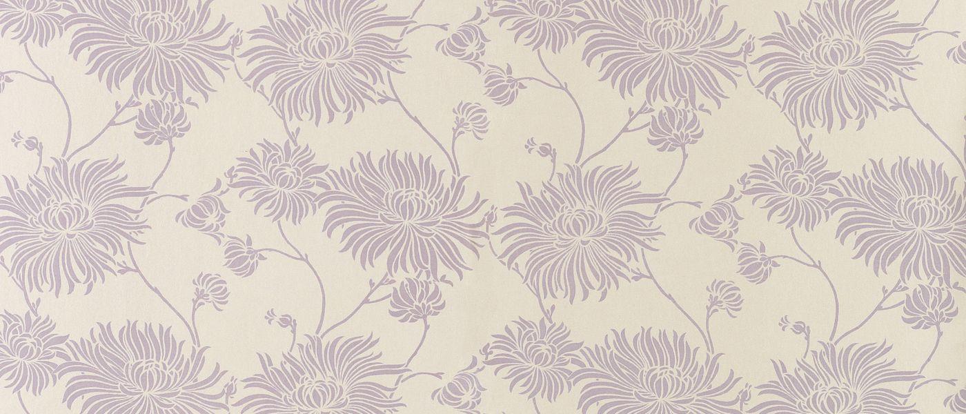 Kimono Amethyst Floral Wallpaper At Laura Ashley Wallpaper