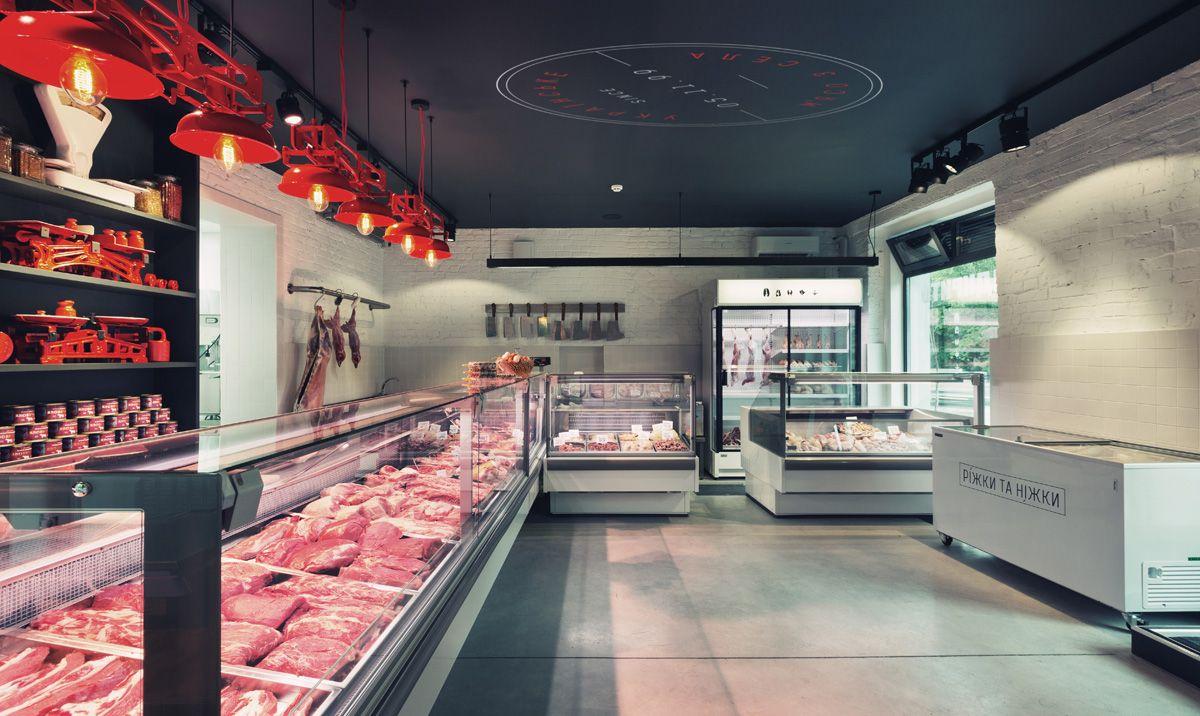 Butcher Shop Yod Design Lab Goruntuler Ile Restoran