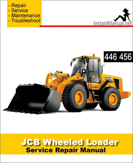 Download JCB 446 456 Wheel Loader Shovel Service Repair Manual | JCB