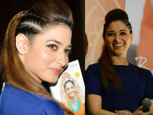 Ponytail puff and side braids by Tamanna | Hair puff, Puff ...