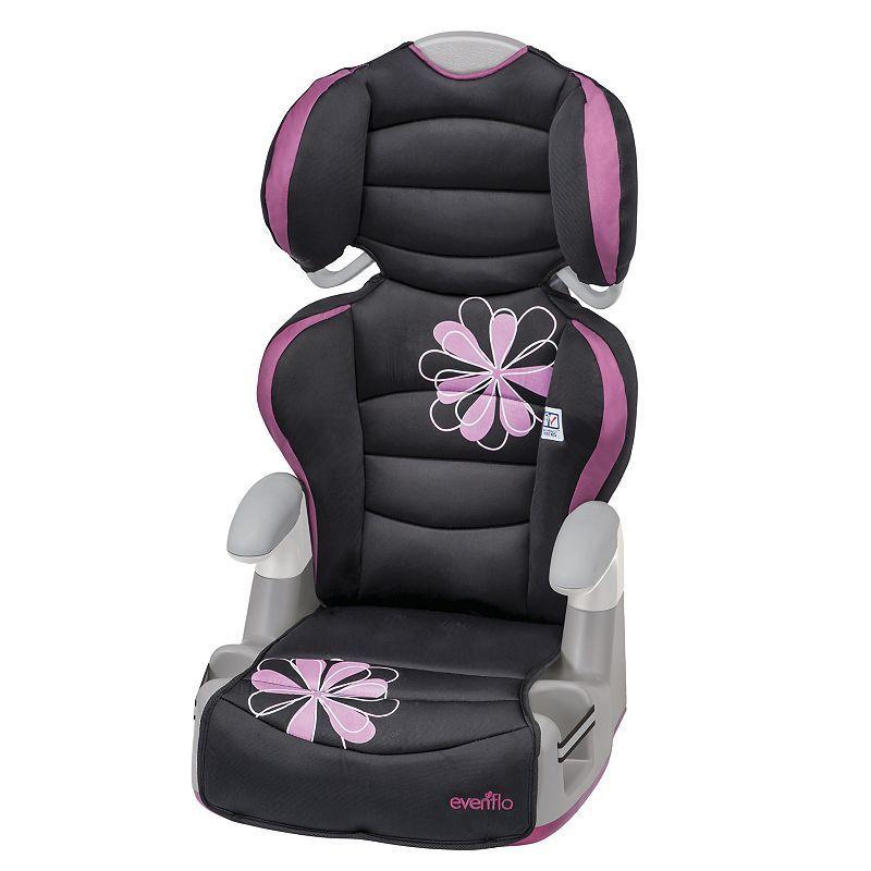 Evenflo Kid Amp High Back Convertible Booster Seat Carissa Purple