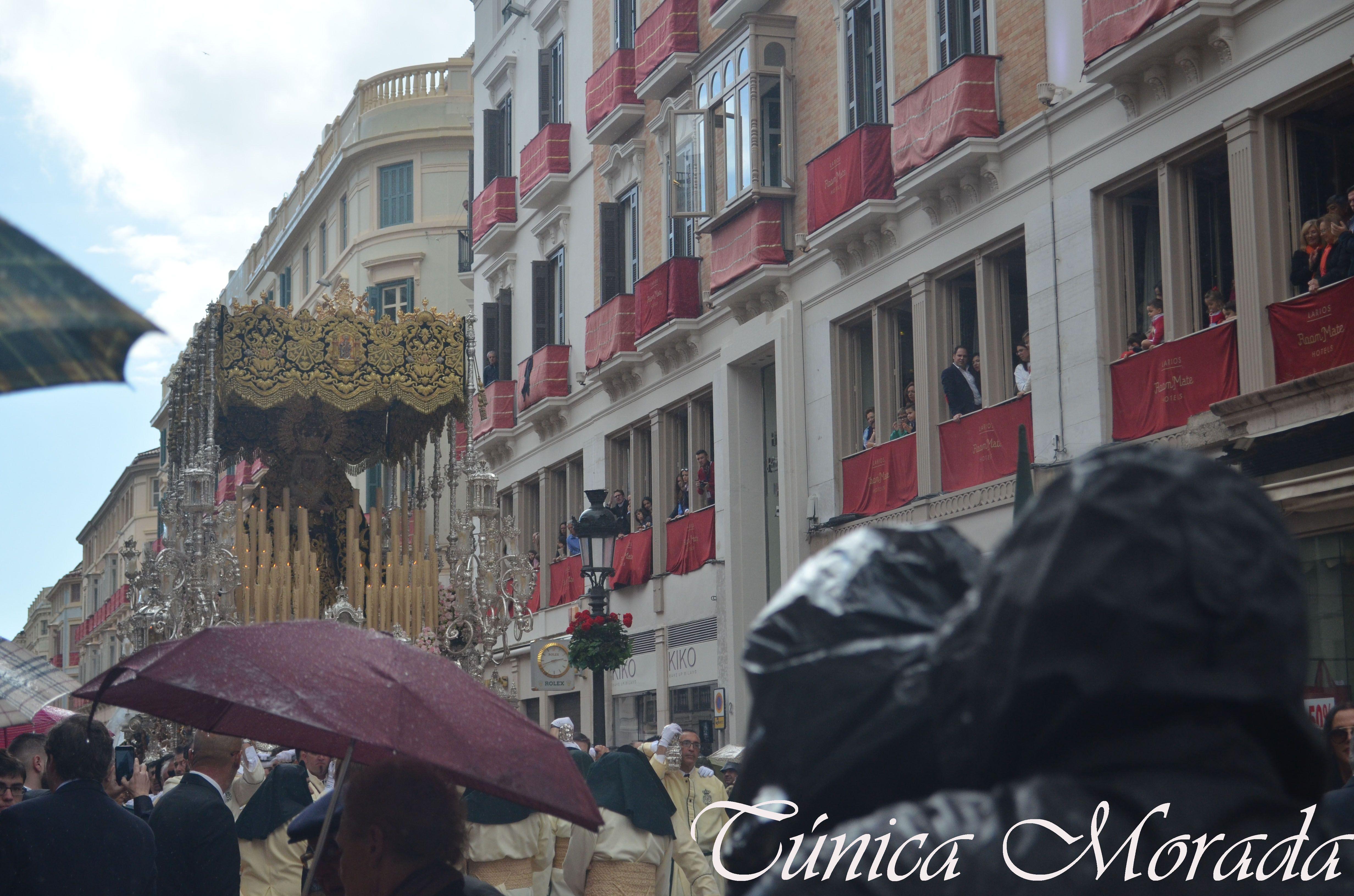 Lágrimas y Favores en la Semana Santa de 2016, Málaga