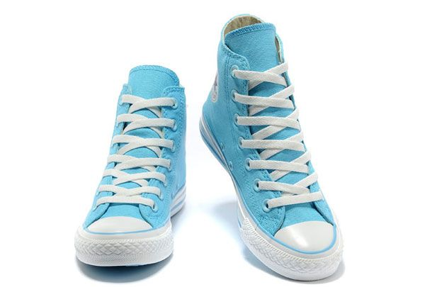 6087f513fb84f7 Overseas Edition Converse New Color Sky Blue Chuck Taylor All Star High Tops  Canvas For Women Shoes  converse  shoes