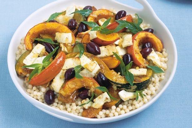 Pumpkin+Couscous+Salad+by+Taste.Com.Au.+