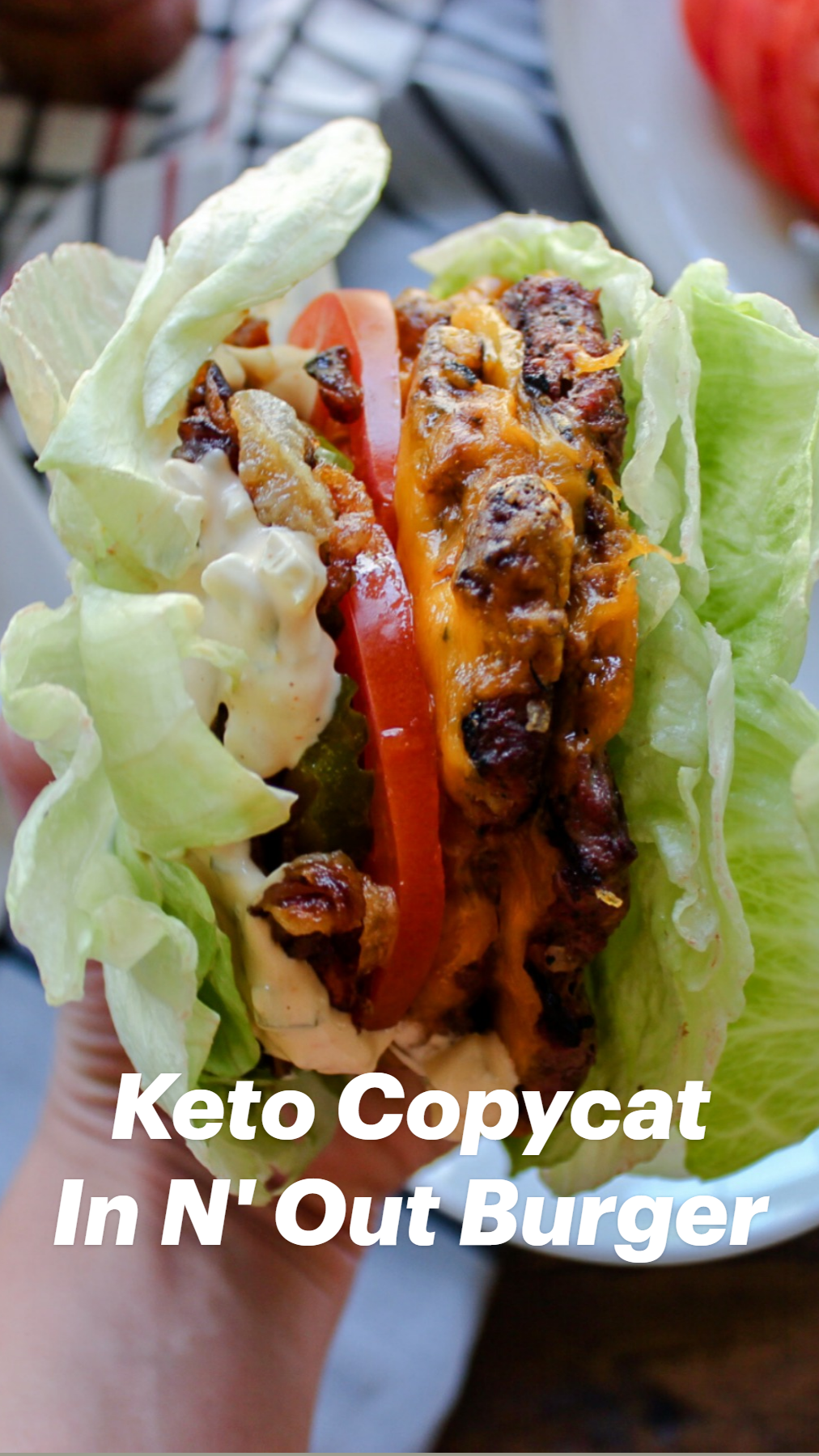 Keto Copycat In N' Out Burger