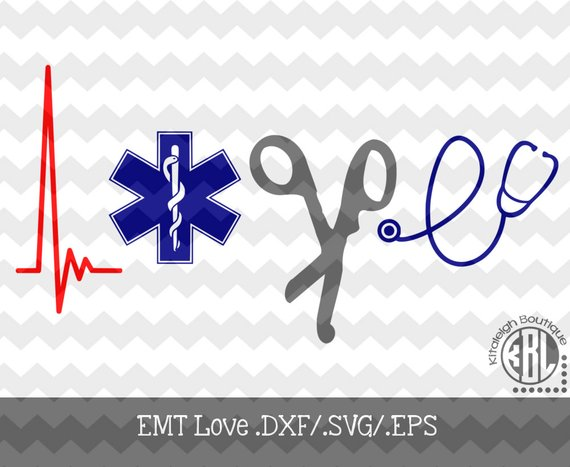 EMT Love INSTANT DOWNLOAD in  dxf/ svg/ eps for use with