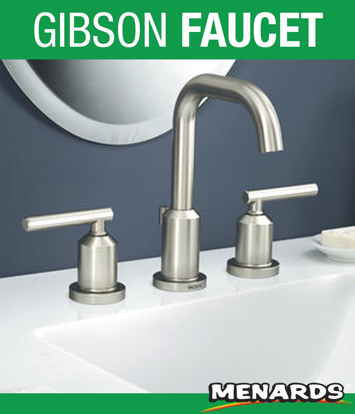 For An Industrial Look For Your Bathroom Try The Moen Gibson