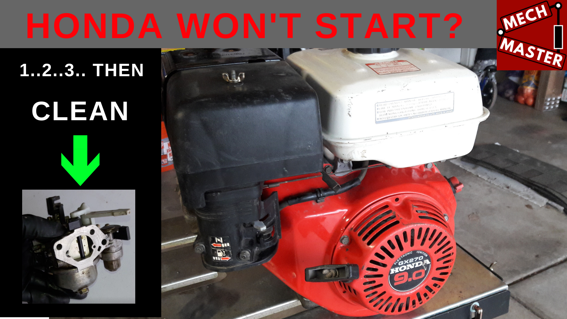 Another Small Engine Video To Help Get Your Honda Generator Pressure Washer Pump Snow Er Or Wver You Have With A That Isn T Working