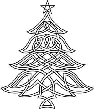 Christmas Tree Drawing Designs Google Search Celtic Christmas Celtic Quilt Christmas Embroidery
