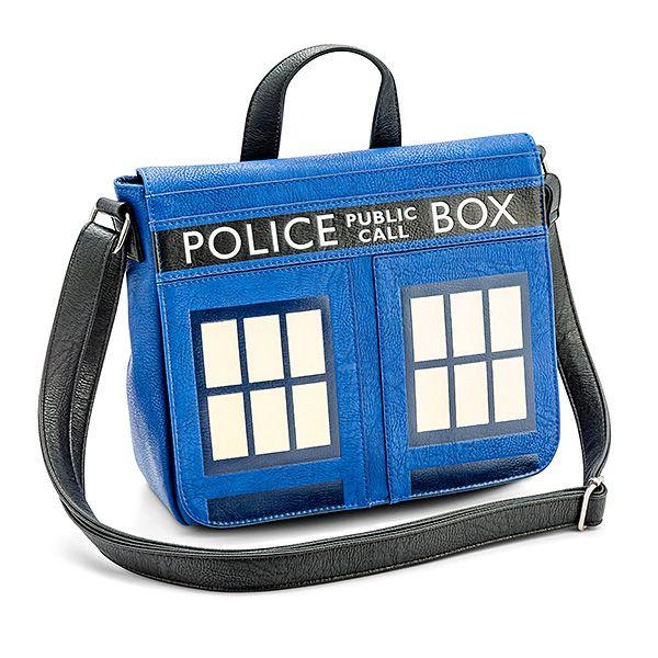 8159a4cefe10 Doctor Who TARDIS Messenger Bag