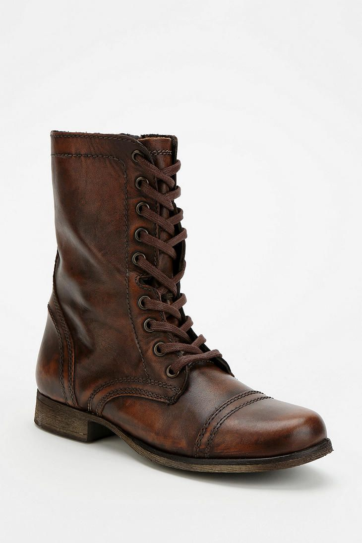 30326591870 Steve Madden Troopa Lace-Up Boot - Urban Outfitters