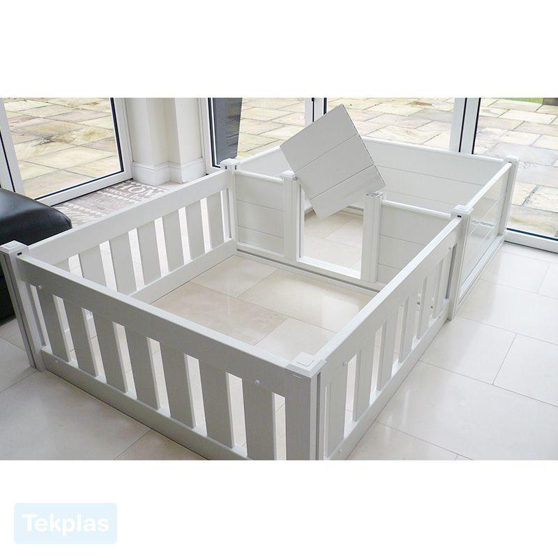 Plastic Whelping Box & Puppy Playpen Whelping box, Puppy
