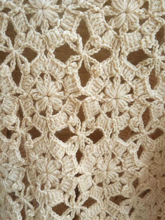 Granny Square Crochet Sweater Boho Cardigan | Seco, Rebecas y La abuela