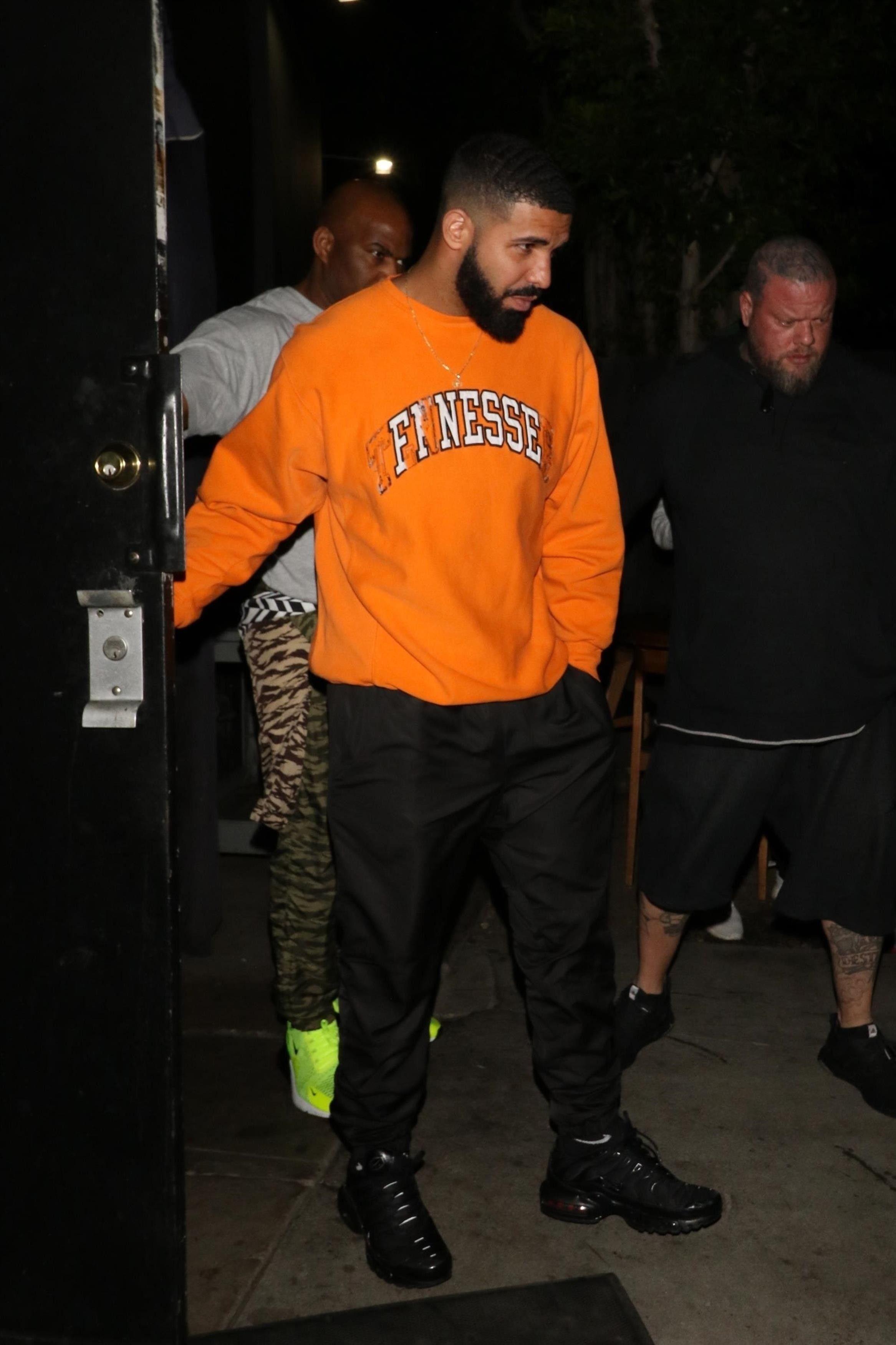 online retailer low price sale quality Drake wearing ICantDecideYet Sweaters and Nike Sneakers | Drake ...